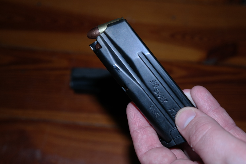 Sig Sauer P250 Eject Magazine
