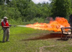 Concealed Carry Flame Thrower + Slow Motion Camera = Yesssssss